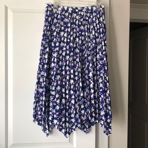 Floral print Banana Republic skirt